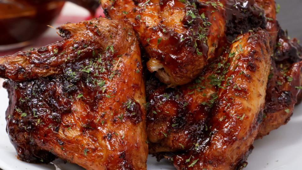 vimbu caterers chicken wings barbecue