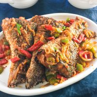 vimbu caterers peppered fried fish