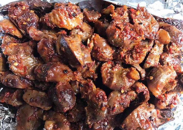 vimbu caterers peppered gizzard